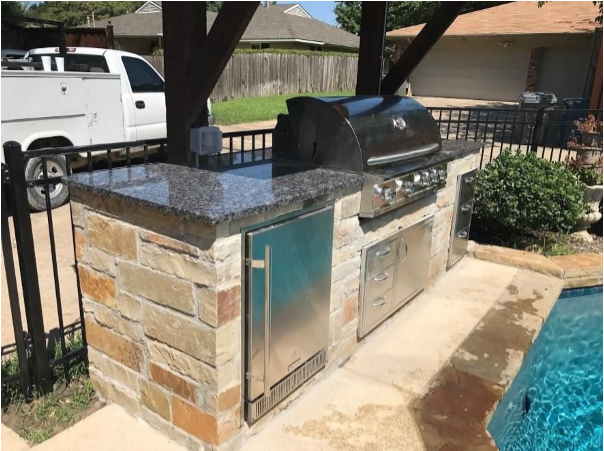 Outdoor Kitchens Mg Granite Countertops Mckinney Tx 214 878 2498